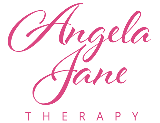 Angela Jane Therapy logo - Massage Reiki Reflexology - Tonbridge Relax Re-balance Re-energise
