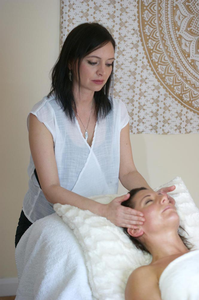 Natural Face Lift - Angela Jane Therapy logo - Massage Reiki Reflexology - Tonbridge